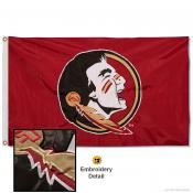 FSU Seminoles Nylon Embroidered Flag