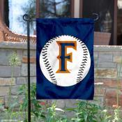Fullerton Titans Baseball Garden Flag