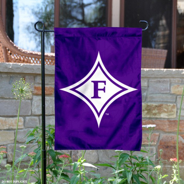 Furman University Garden Flag is 13x18 inches in size, is made of 2-layer polyester, screen printed Furman University athletic logos and lettering. Available with Same Day Express Shipping, Our Furman University Garden Flag is officially licensed and approved by Furman University and the NCAA.
