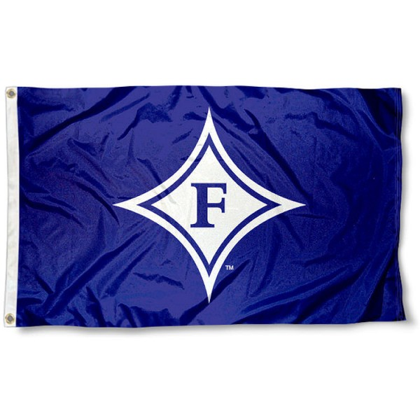 Furman University Paladins Flag measures 3'x5', is made of 100% poly, has quadruple stitched sewing, two metal grommets, and has double sided Furman University logos. Our Furman University Paladins Flag is officially licensed by the selected university and the NCAA.
