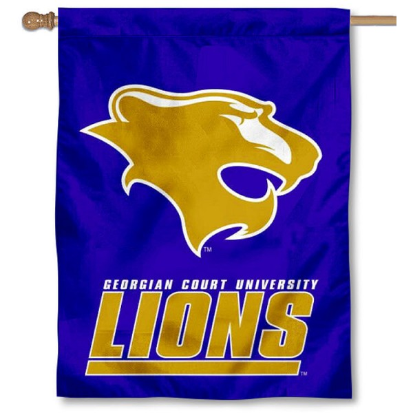 GCU Lions Banner Flag is a vertical house flag which measures 30x40 inches, is made of 2 ply 100% polyester, offers screen printed NCAA team insignias, and has a top pole sleeve to hang vertically. Our GCU Lions Banner Flag is officially licensed by the selected university and the NCAA.