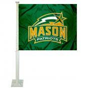 George Mason University Car Window Flag