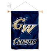George Washington Colonials Banner with Suction Cup