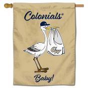 George Washington Colonials New Baby Flag