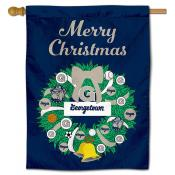 Georgetown Happy Holidays Banner Flag
