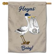 Georgetown Hoyas New Baby Flag