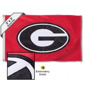 Georgia Bulldog Small 2'x3' Flag