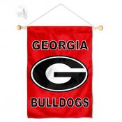 Georgia Bulldogs Banner with Suction Cup