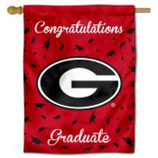 Georgia Bulldogs Congratulations Graduate Flag