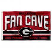 Georgia Bulldogs Fan Man Cave Game Room Banner Flag