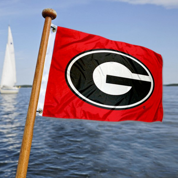 Georgia Bulldogs  Nautical Flag