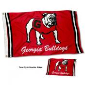 Georgia Bulldogs Throwback Double Sided Flag