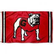 Georgia Bulldogs Throwback Vault Logo Flag