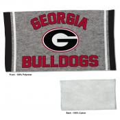 Georgia Bulldogs Workout Exercise Towel