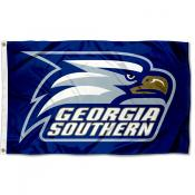 Georgia Southern Eagles Blue Flag