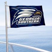 Georgia Southern Eagles Boat and Mini Flag