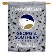 Georgia Southern Eagles Congratulations Graduate Flag