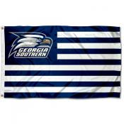 Georgia Southern Eagles Stripes Flag
