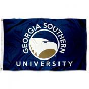 Georgia Southern Eagles Wordmark Flag