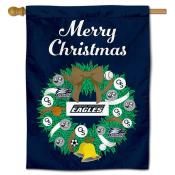 Georgia Southern Happy Holidays Banner Flag