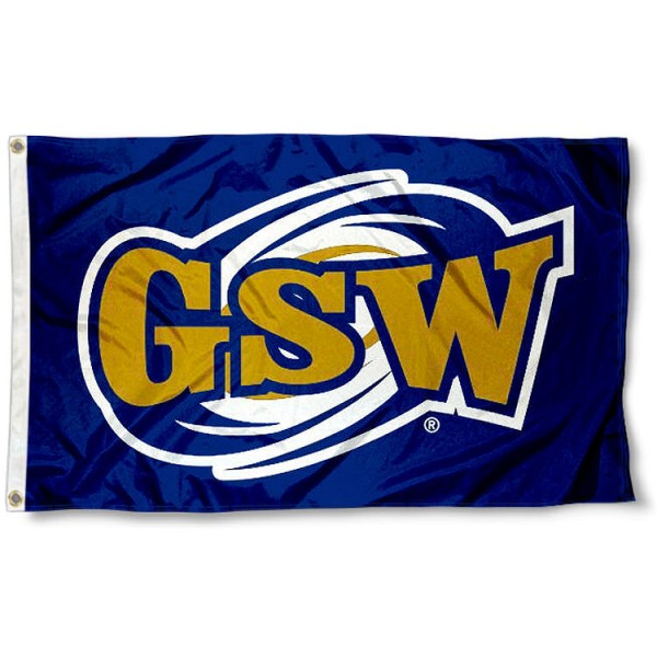 Georgia Southwestern State Hurricanes Flag measures 3'x5', is made of 100% poly, has quadruple stitched sewing, two metal grommets, and has double sided Team University logos. Our GSW Canes 3x5 Flag is officially licensed by the selected university and the NCAA.