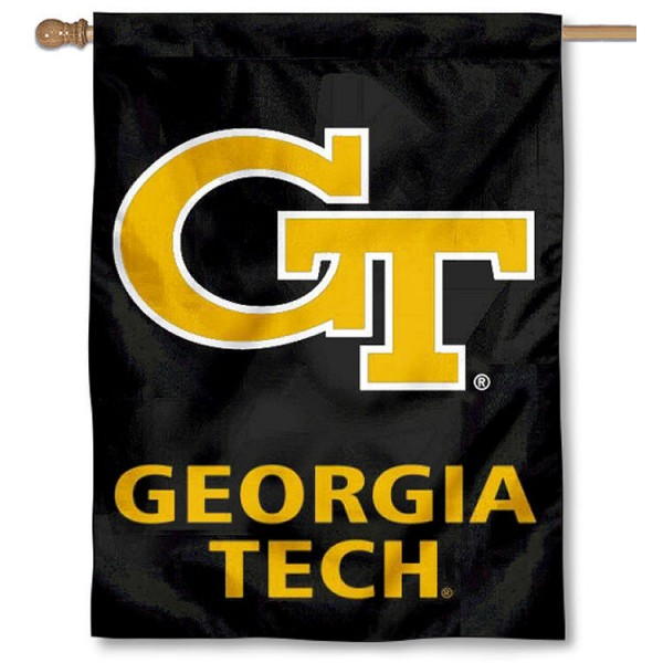 Georgia Tech Banner Flag is a vertical house flag which measures 30x40 inches, is made of 2 ply 100% polyester, offers dye sublimated NCAA team insignias, and has a top pole sleeve to hang vertically. Our Georgia Tech Banner Flag is officially licensed by the selected university and the NCAA.