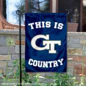 Georgia Tech Country Garden Flag