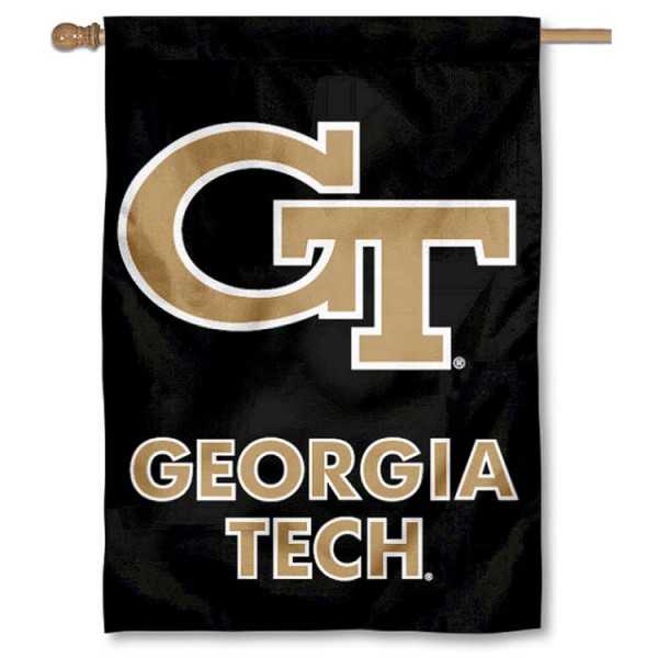 Georgia Tech Double Sided Banner is a vertical house flag which measures 28x40 inches, is made of 2 ply 100% nylon, offers screen printed NCAA team insignias, and has a top pole sleeve to hang vertically. Our Georgia Tech Double Sided Banner is officially licensed by the selected university and the NCAA.