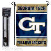 Georgia Tech Garden Flag and Pole Stand Holder