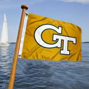 Georgia Tech Nautical Flag
