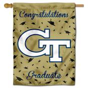 Georgia Tech Yellow Jackets Congratulations Graduate Flag