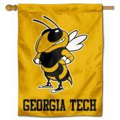 Georgia Tech Yellow Jackets Double Sided House Flag