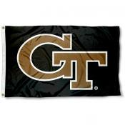 Georgia Tech Yellow Jackets Logo Flag