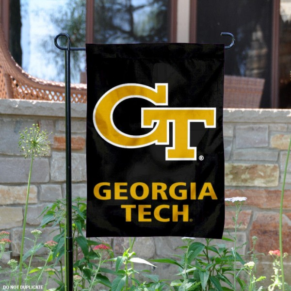Georgia Tech Yellow Jackets Logo Garden Flag is 13x18 inches in size, is made of 2-layer polyester, screen printed Georgia Tech Yellow Jackets Bay athletic logos and lettering. Available with Same Day Express Shipping, Our Georgia Tech Yellow Jackets Logo Garden Flag is officially licensed and approved by Georgia Tech Yellow Jackets Bay and the NCAA.