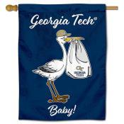 Georgia Tech Yellow Jackets New Baby Flag