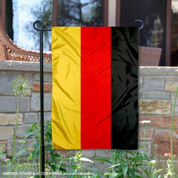 Germany Double Sided Garden Flag is 13x18 inches in size, is made of 2-layer polyester, screen printed logos and lettering, and is viewable on both sides. Available same day shipping, our Germany Double Sided Garden Flag is a great addition to your decorative garden flag selections.