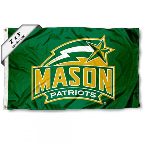 GMU Patriots Small 2'x3' Flag measures 2x3 feet, is made of 100% polyester, offers quadruple stitched flyends, has two brass grommets, and offers printed GMU Patriots logos, letters, and insignias. Our 2x3 foot flag is Officially Licensed by the selected university.