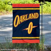 Golden State Warriors City Edition Double Sided Garden Flag