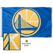 Golden State Warriors Embroidered Nylon Flag