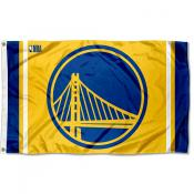Golden State Warriors Gold 3x5 Flag