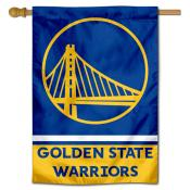 Golden State Warriors Logo Double Sided House Flag