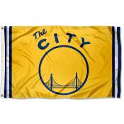 Golden State Warriors The City Logo Flag