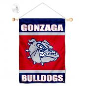 Gonzaga Bulldogs Banner with Suction Cup