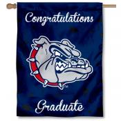Gonzaga Bulldogs Congratulations Graduate Flag