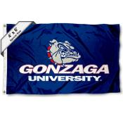 Gonzaga Bulldogs Large 4x6 Flag
