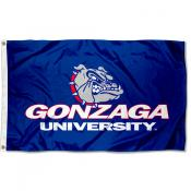 Gonzaga Bulldogs Wordmark Flag