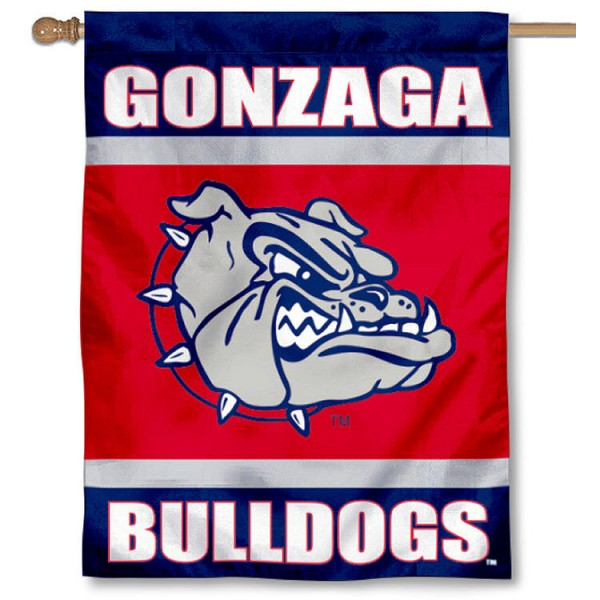 Gonzaga University House Flag is a vertical house flag which measures 30x40 inches, is made of 2 ply 100% polyester, offers dye sublimated NCAA team insignias, and has a top pole sleeve to hang vertically. Our Gonzaga University House Flag is officially licensed by the selected university and the NCAA