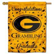 Grambling State Tigers Congratulations Graduate Flag