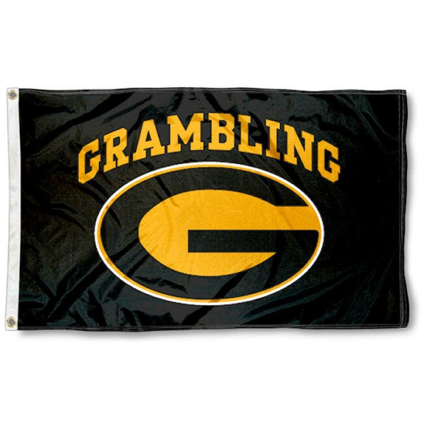 This Grambling State Tigers Flag measures 3'x5', is made of 100% nylon, has quad-stitched sewn flyends, and has two-sided Grambling State Tigers printed logos. Our Grambling State Tigers Flag is officially licensed and all flags for Grambling State Tigers are approved by the NCAA and Same Day UPS Express Shipping is available.