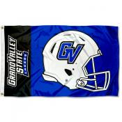 Grand Valley State Lakers Football Helmet Flag